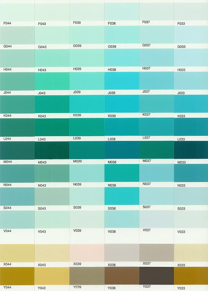 Custom Paint Color Custom Paint Color Chart Twangled
